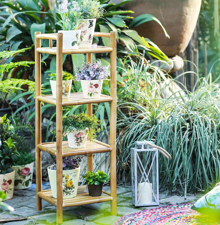 Lindas y funcionales, para decorar o guardar tus implementos de jardinería.