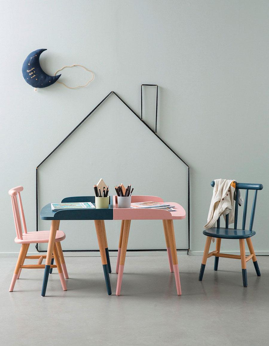 sillas ninos escritorios