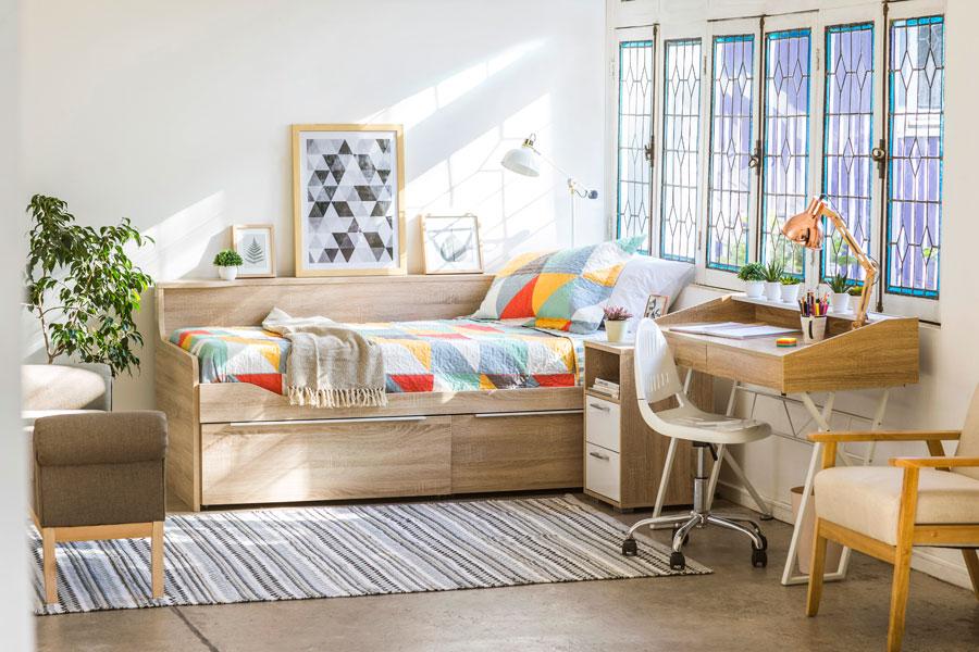 guia dormitorio infantil juvienil espacio