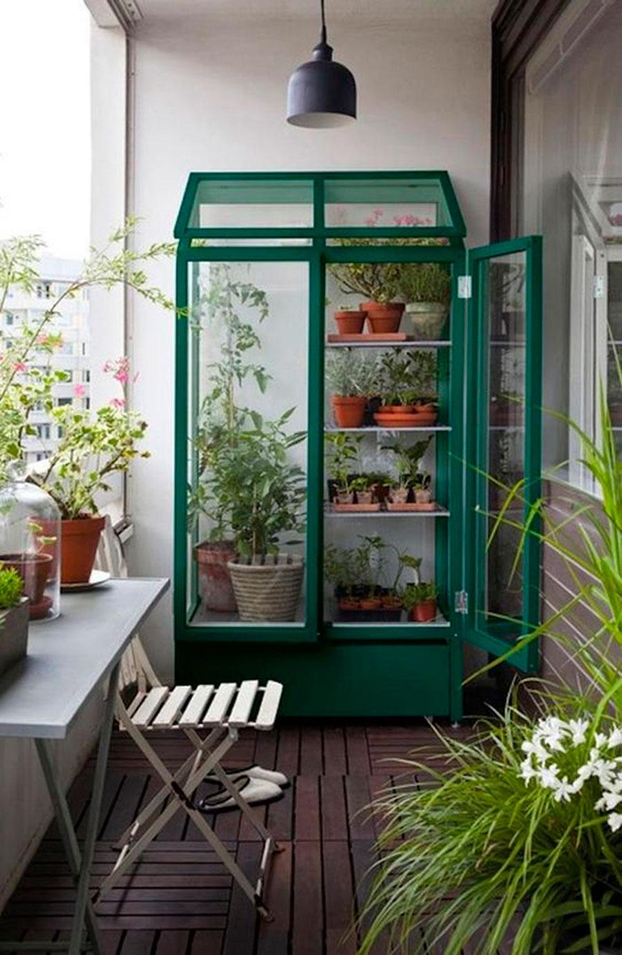 que usos le puedo dar a mi vitrina terraza