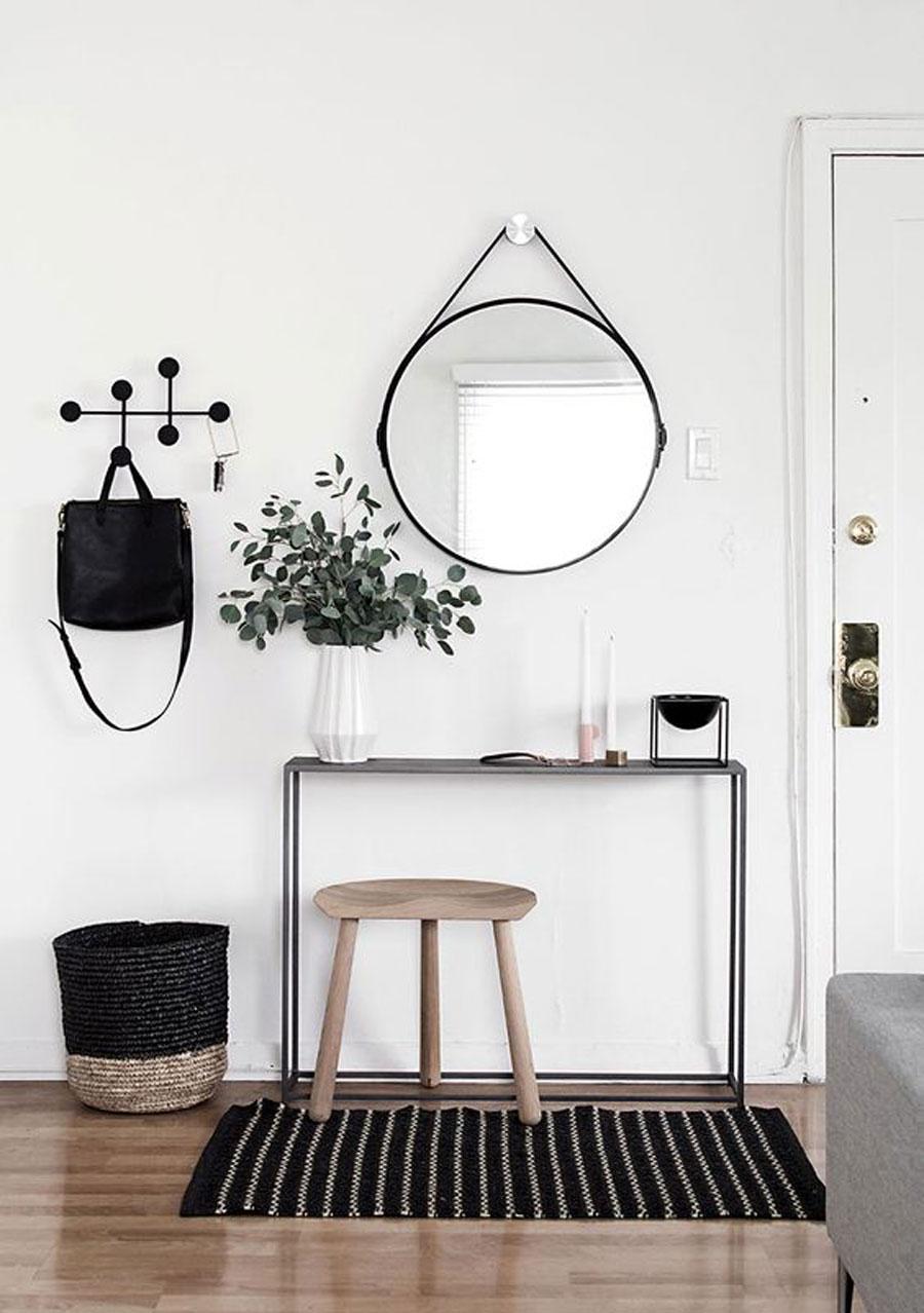 recibidor de estilo nórdico finlandés - www.homeyohmy.com