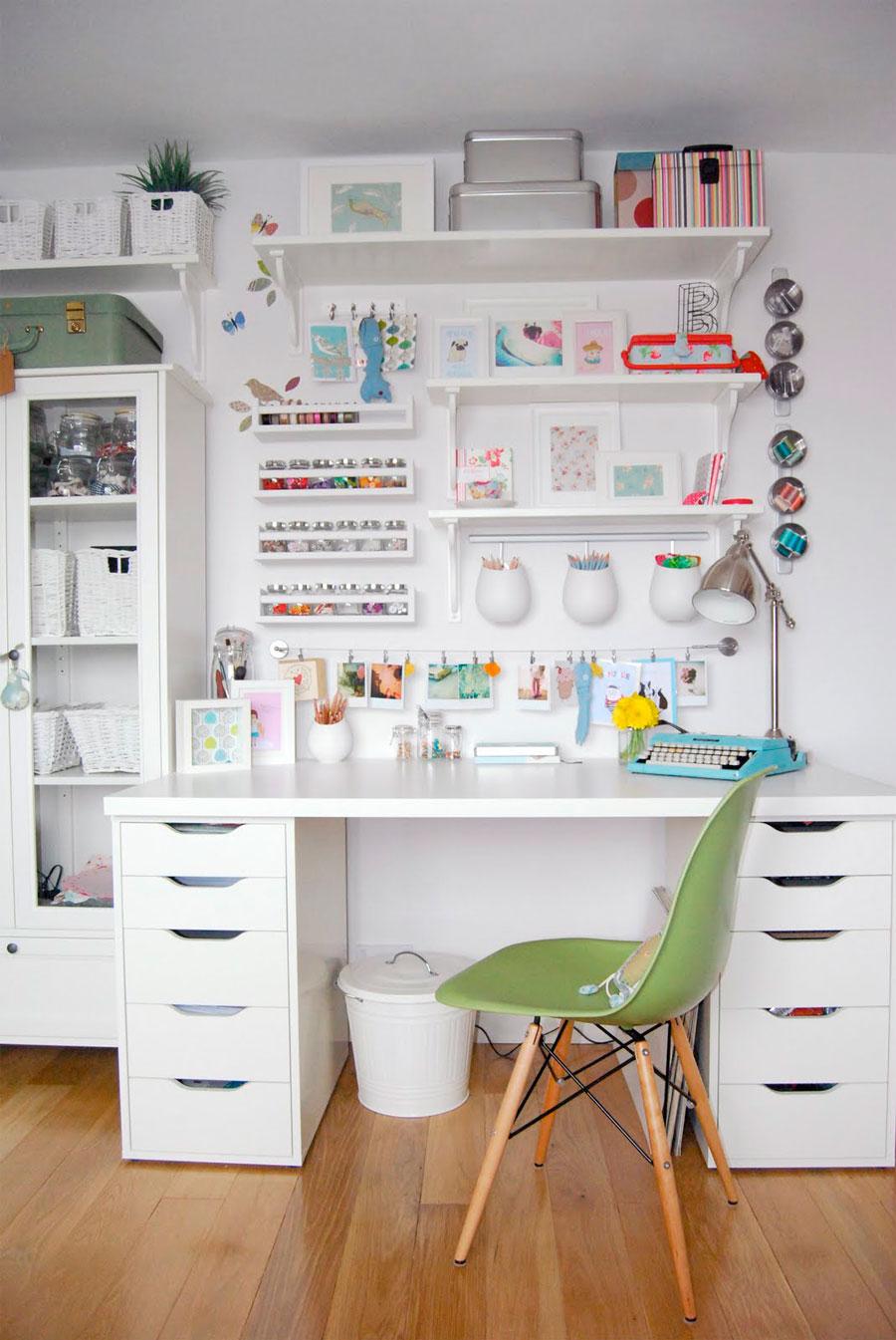 escritorio crafty pared