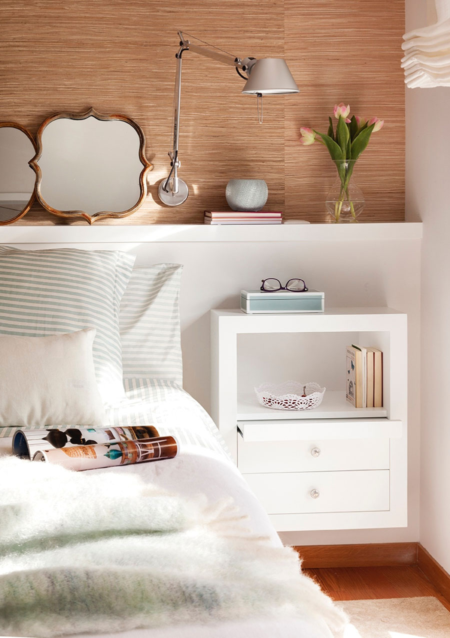 razones atreverse papel mural cama