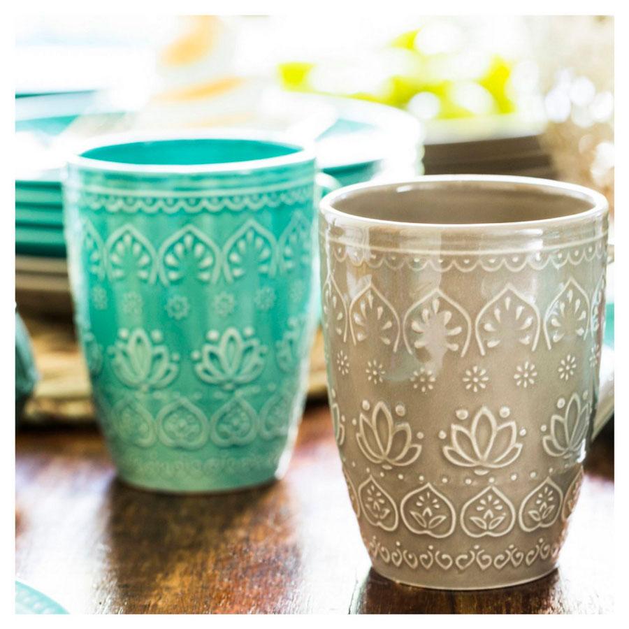 escritorio crafty tazas